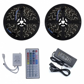 ZHAOYAO-Waterproof-144W-RGB-5050-SMD-600-LED-Strip-Light-with-10A-US-Plug-Power-Adapter-2b-44-Keys-Remote-Controller