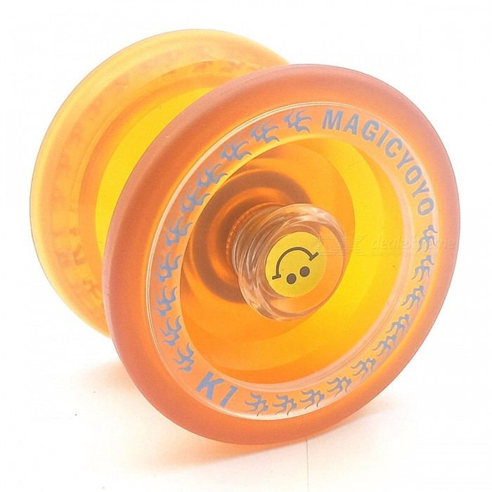 Buy Premium Yo-Yo Ball Toy for Kids, Adults - Yellow with Litecoins with Free Shipping on Gipsybee.com