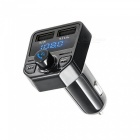 X1 Car Bluetooth Kit with Hands-Free FM Transmitter, Dual USB Charger, MP3 Music Player