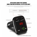 Dual USB Car Door Phone Charger, Bluetooth FM Transmitter, MP3 Player Handsfree Car Kit