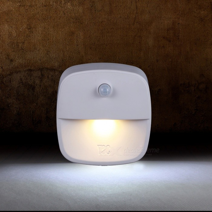Portable Mini Circular Energy-Saving Intelligent Induction Sensor Infrared Night Light Lamp (3 PCS)
