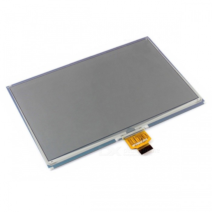 Waveshare 640x384 7.5 Three-Color E-Ink Raw Display with SPI Interface, Without PCBLCD, LED Display Module<br>Form  Color7.5 Inch e-Paper (B) Model7.5inch e-Paper (B)Quantity1 DX.PCM.Model.AttributeModel.UnitMaterialpcb,lcdScreen TypeOthers,E-Ink displayScreen Size7.5 DX.PCM.Model.AttributeModel.UnitResolutionOthers,640x384Working Voltage   3.3 DX.PCM.Model.AttributeModel.UnitEnglish Manual / SpecNoDownload Link   www.waveshare.com/wiki/7.5inch_e-Paper_HAT_(B)Packing List1 x 7.5 Inch e-Paper (B) Display<br>