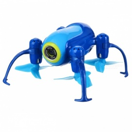 UDIRC-i150HW-Fixed-Height-Version-Mini-Quadcopter-Aerial-Vehicle-with-Camera-Customized-Route-Mode-Blue