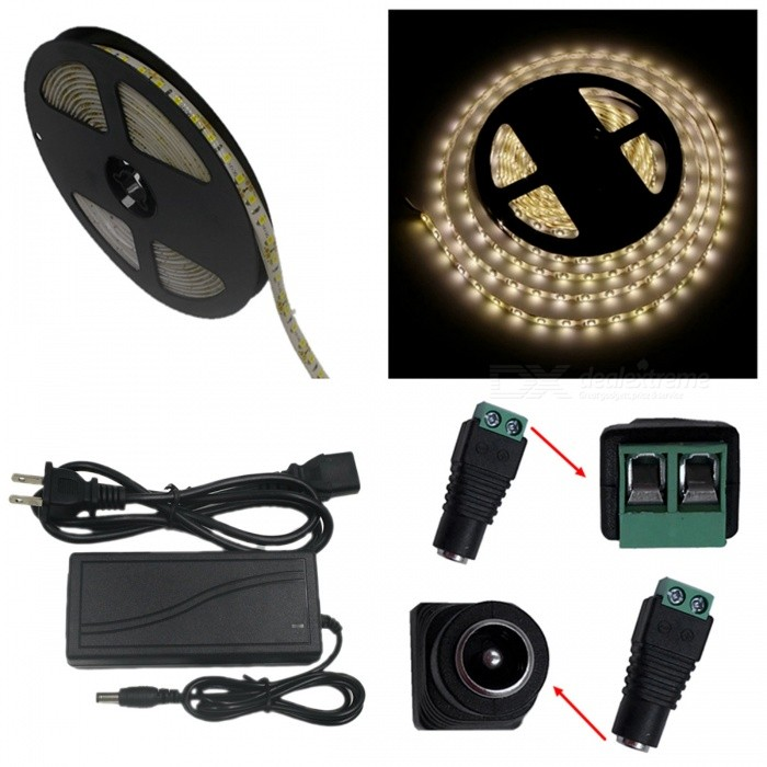 ZHAOYAO-IP65-Waterproof-70W-3528-SMD-600-LED-Strip-Light-with-5A-US-Power-Charger-2b-DC-Adapter-5M