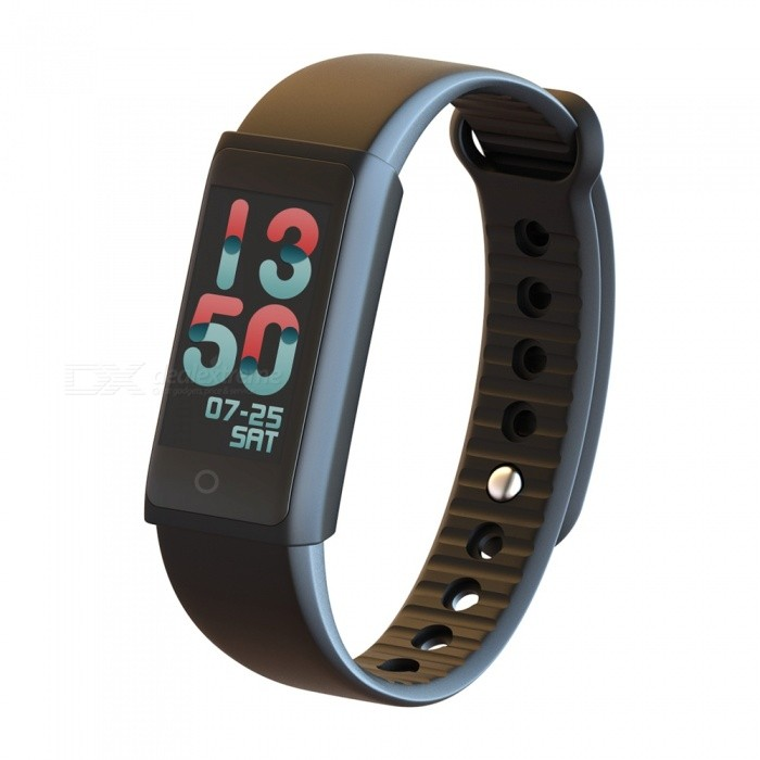 Y03s Color Screen Smart Bracelet Wrist Watch with Blood Pressure Heart Rate Monitor - Black
