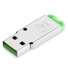 Mini USB 2.0 Micro SD / TF Card Reader - Green