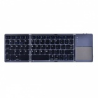 AVATTO-A18-Portable-Twice-Folding-Bluetooth-BT-Wireless-Keyboard-Touchpad-for-IOS-Android-Windows-IPAD-Tablet-Black