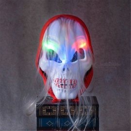 YWXLight Halloween Horror Party Skull Head LED Flashing Mask