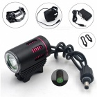 SPO Mountain Bike LED L2 Ultrabright Headlight Headlamp Bicycle Riding Light with US Plug Charger