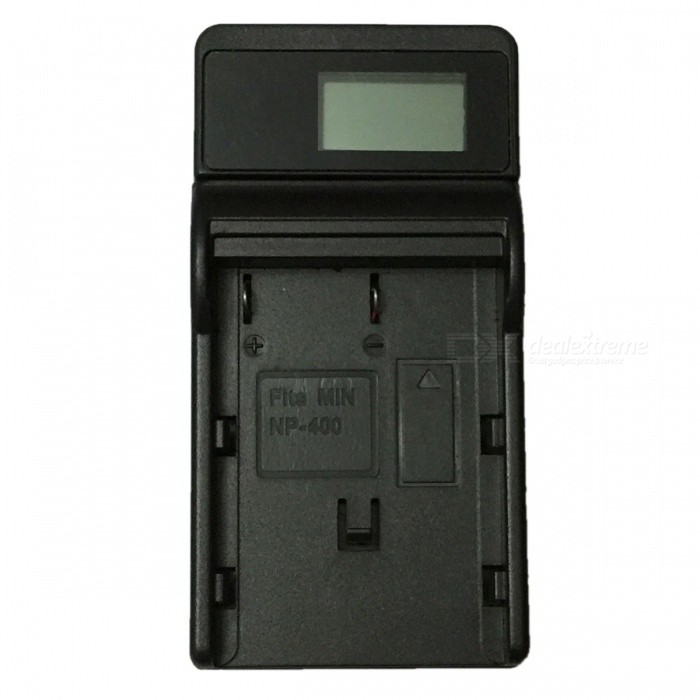 Ismartdigi NP400 LCD USB Camera Battery Charger for Minolta NP-400 Battery - BlackChargers<br>Form  ColorBlackPower AdapterUSBModelNP-400 LCD U CMaterialPlastic shellQuantity1 DX.PCM.Model.AttributeModel.UnitShade Of ColorBlackCompatible BrandMinoltaNP-400Compatible ModelsNP-400Compatible Battery ModelNP-400Output Current0.6 DX.PCM.Model.AttributeModel.UnitInput VoltageOthers,5 DX.PCM.Model.AttributeModel.UnitOutput VoltageOthers,8.4 DX.PCM.Model.AttributeModel.UnitOther FeaturesMicro USB Mobile Charger (DC charging and mobile power supply)Packing List1 x Charger 1 x Micro USB Cable (Length: 30cm)<br>
