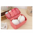 New Makeup Bra Underwear Lingerie Organizer Travel Bag - Watermelon Red