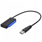 BLCR USB 3.0 to SATA iii 3 15Pin+7Pin 22Pin  Converter Adapter Cable for 2.5''3.5'' SSD HDD External Hard Disk Drive