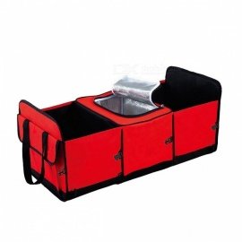 Foldable-Multi-Compartment-Fabric-Hippo-Car-Truck-Van-SUV-Storage-Basket-Organizer-and-Cooler-Set