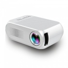 YG320-Portable-LCD-Projector-Support-HD-Video-for-Home-Theater-Cinema-Game-TV-White-(EU-Plug)