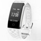 S2-096-OLED-Bluetooth-Smart-Band-Wristband-with-Heart-Rate-Monitor-White