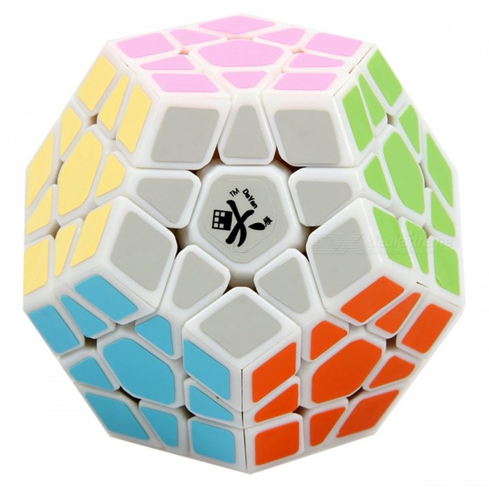 Dayan Megaminx Long Side 32mm Smooth Speed Magic Cube Puzzle Toy for Kids, Adults