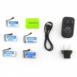 JJRC-X5A-A16-5-in-1-Charger-Set-with-Five-37V-500mAh-20C-Lithium-ion-Batteries-for-JJRC-H43-RC-Quadcopter