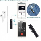 Mini Bluetooth V4.2 Receiver, Wireless Hands-free Car Aux Audio Adapter - Black