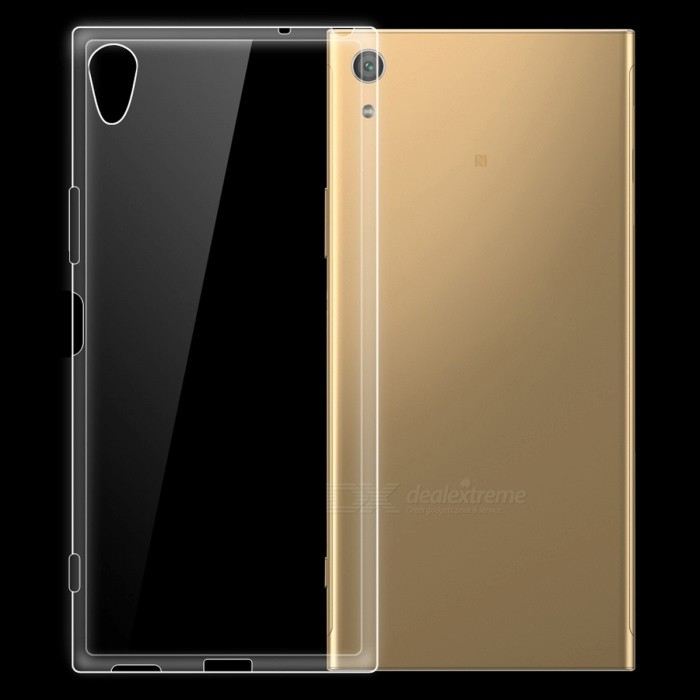 Dayspirit Ultra-thin Protective TPU Back Case for Sony Xperia XA1 Plus - TransparentTPU Cases<br>Form  ColorTransparentModelN/AMaterialTPUQuantity1 pieceShade Of ColorTransparentCompatible ModelsSony Xperia XA1 PlusPacking List1 x Case<br>