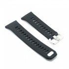 Stylish Buckle Type Silicone Smart Watch Band Strap for Fitbit Ionic - Black