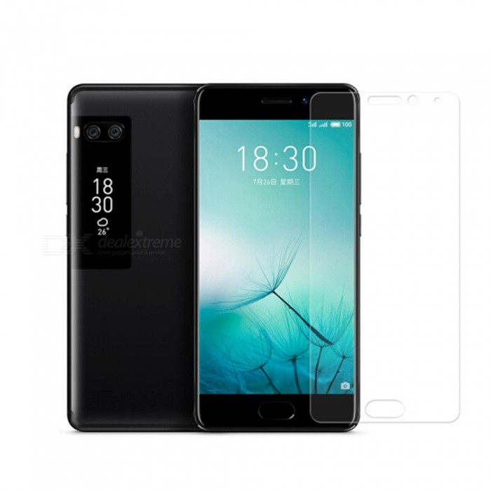 Naxtop Tempered Glass Screen Protector for Meizu Pro 7 Plus - Transparent