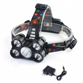 SPO-V28-1-Outdoor-Ultrabright-Five-T6-LED-Headlight-DC-Port-Rechargeable-Headlamp-for-Fishing-Camping