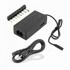 8-in-1-96W-Universal-AC-Power-Adapter-for-Notebook-Black-US-Plug-with-Ground-Wire