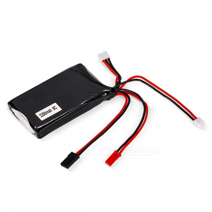 2S 7.4V 2200mAh 8C LiPo Battery for Futaba 14SG Remote Controller RC Transmitter