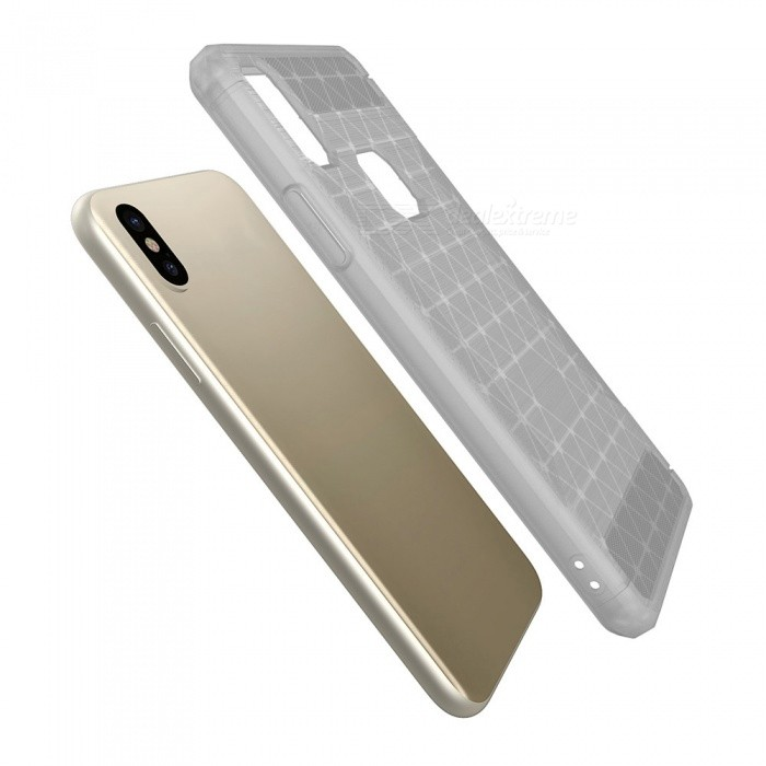 Mini Smile Protective Wire Drawing Carbon Fiber Tpu Back Case Anti
