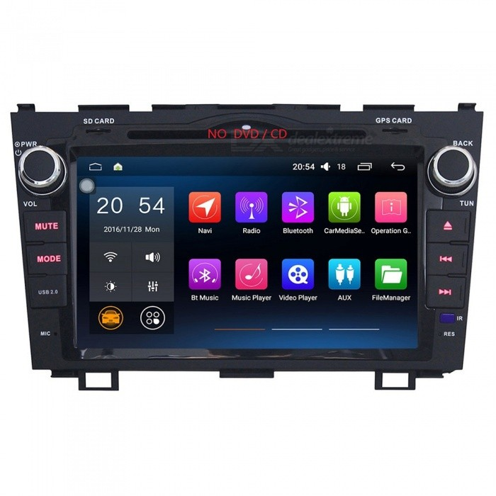 "Joyous J-8815N6.0 Android 6.0 RAM HD 8"" 2-Din Touch Screen Car Audio System Radio for Honda CRV 2007-2012 - Black"
