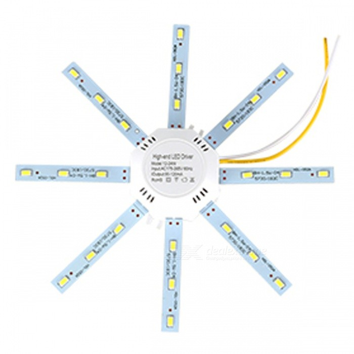 12W 900LM 5730SMD Cold White Light Octopus LED Ceiling Lamp