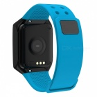 "Z66 0.95"" OLED Sports Bluetooth Intelligence Smart Bracelet Waterproof Wrist Band - Blue + Black"
