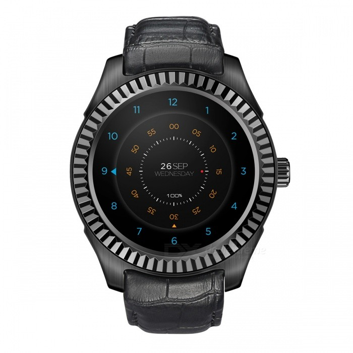 NO.1 D7W 1.3quot Android 4.4 System Dual-core Smart Watch
