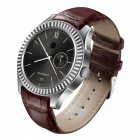 "NO.1 D7W 1.3"" Android 4.4 System Dual-core Smart Watch - Silver"