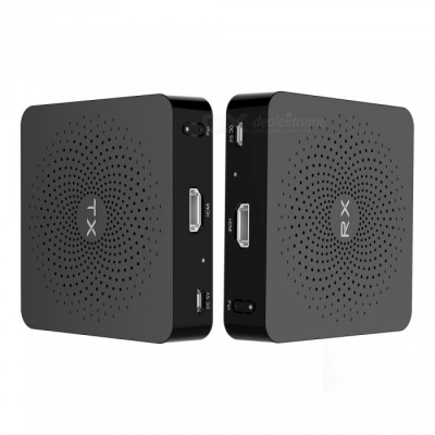 Measy W2H 1080P HD Wireless HDMI Transmitter and Receiver - Black (US Plug)