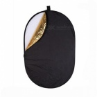 Portable Folding 60x90cm Photography Elliptical Reflector Plate