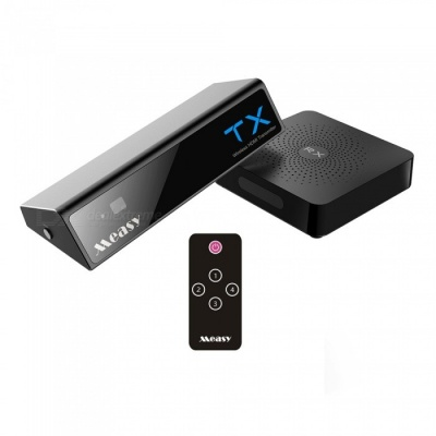 Measy W2H MAX 1080P HD Wireless HDMI Transmitter and Receiver - Black (US Plug)
