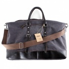 Oversized-Foldable-Canvas-Leather-Luggage-Handbag-Tote-Bag-for-Travel-Outdoor-Grey-(L)