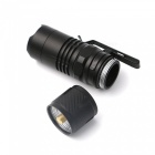 ZHISHUNJIA YH-6842 Telescopic Zoom 3-Mode Cold White Light Flashlight