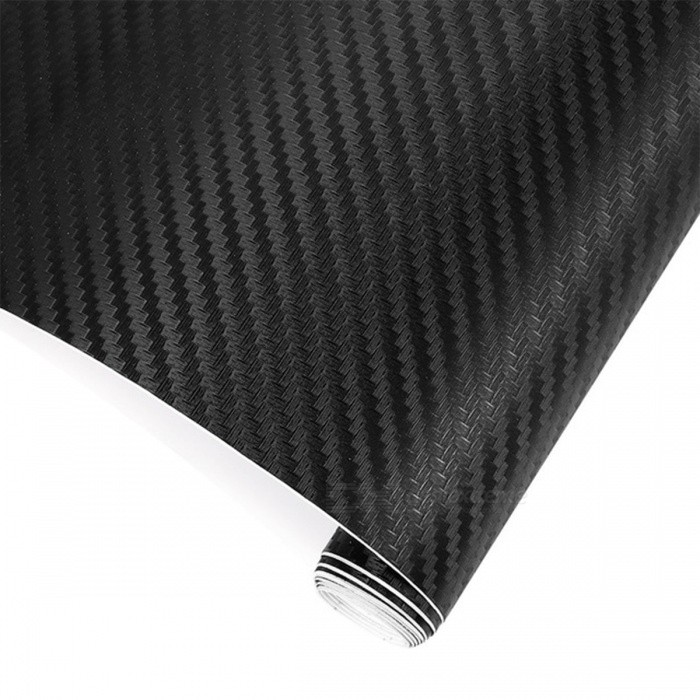 3D 200cm x 30cm Film Carbon Fiber Vinyl Film Wrap Sheet Roll Motorcycle Car Styling Sticker