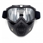 Stylish-Motorcycle-Helmet-Mask-Harley-Goggles-for-Outdoor-Bike-Riding-Black-2b-Silver