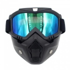 Stylish-Motorcycle-Helmet-Mask-Harley-Goggles-for-Outdoor-Bike-Riding-Black-2b-Color