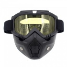 Stylish-Motorcycle-Helmet-Mask-Harley-Goggles-for-Outdoor-Bike-Riding-Black-2b-Yellow