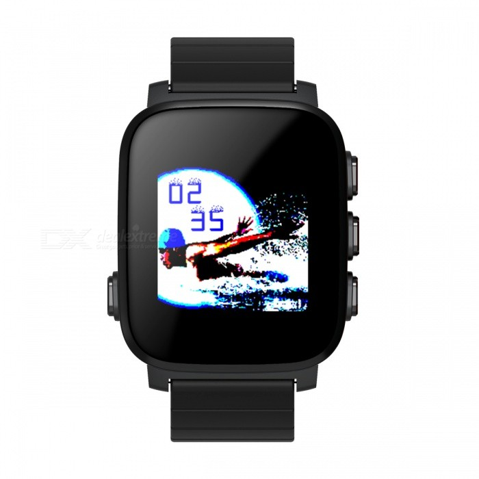 SMAWATCH Large Screen Sports Smart Watch with Heart Rate Monitor - BlackSmart Watches<br>Form  ColorIron Grey + BlackModel10DQuantity1 DX.PCM.Model.AttributeModel.UnitMaterialTPUShade Of ColorGrayCPU Processor0Screen Size1.28 DX.PCM.Model.AttributeModel.UnitScreen Resolution128*128Touch Screen TypeNoNetwork Type2G,3G,4G,Others,BluetoothCellularWCDMA,TD-SCDMA,CDMA2000,GSM,FDD-LTE,TD-LTE,TDD-LTESIM Card TypeStandard SIM,Micro SIM,Nano SIM,Smartphone mate,Others,BluetoothBluetooth VersionBluetooth V4.0,Bluetooth V4.1,Bluetooth V4.2,Others,Bluetooth V4.0 or moreOperating SystemAndroid 4.4,Android 4.4.1,Android 4.4.2,iOS,Android 5.0,Android 5.1,Android 6.0,Android 7.0Compatible OSAndroid 4.4 or moreLanguageCesky,Danish,English,German,Hebrew,Korean,Polish,Russian,Simplified Chinese,Spanish,VietnameseWristband Length25 DX.PCM.Model.AttributeModel.UnitWater-proofOthers,3ATMBattery ModeNon-removableBattery TypeLi-polymer batteryBattery Capacity200 DX.PCM.Model.AttributeModel.UnitStandby Time960 DX.PCM.Model.AttributeModel.UnitPacking List1 x Watch1 x Charger cable1 x Manual<br>
