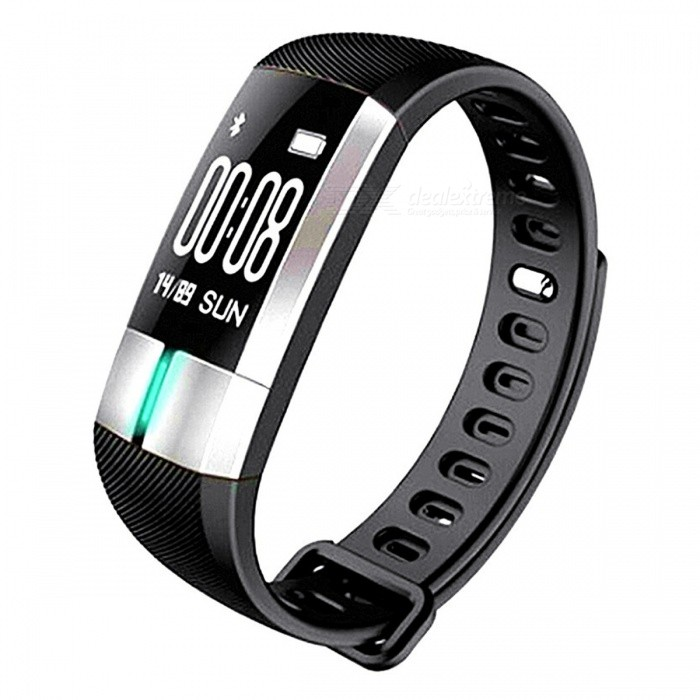 KELIMA G20 Bluetooth Smart Bracelet Wristband with Heart Rate Monitoring, Pedometer - Black