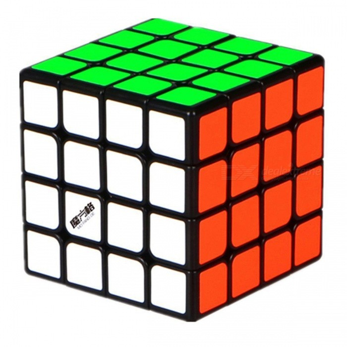 MoFangGe QiHang Speed Cube 4x4 Smooth Magic Cube Puzzles Toy - 65mmMagic IQ Cubes<br>Form  ColorBlackModelN/AMaterialABSQuantity1 DX.PCM.Model.AttributeModel.UnitType4x4x4Suitable Age 3-4 years,5-7 years,8-11 years,12-15 years,Grown upsPacking List1 x Magic Cube<br>