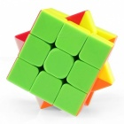 QiYi Warrior Speed Cube 3x3 Smooth Magic Cube Puzzles Toys - 57mm