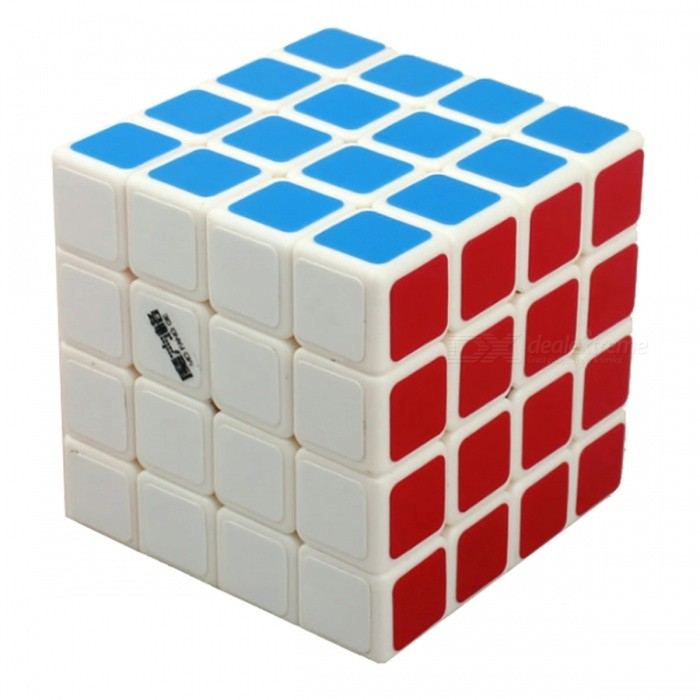 MoFangGe QiHang Speed Cube 4x4 Smooth Magic Cube Puzzles Toy - 65mmMagic IQ Cubes<br>Form  ColorWhiteModelN/AMaterialABSQuantity1 DX.PCM.Model.AttributeModel.UnitType4x4x4Suitable Age 3-4 years,5-7 years,8-11 years,12-15 years,Grown upsPacking List1 x Magic Cube<br>