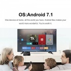 TX9 Pro Amlogic Octa-Core DDR3 Bluetooth V4.1 WiFi Android Set Top Box con 3 GB de RAM, ROM de 32 GB (enchufe de la UE)