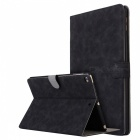 Retro-Frosted-PU-Leather-Case-Cover-Wallet-Cards-Holder-with-Stand-Function-for-2017-97-IPAD-Black